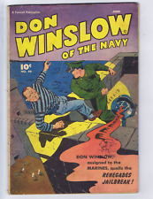 Don Winslow of the Navy #46 Fawcett Pub 1947