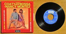 """EP Original 1969 COATY """" avant garde """" BOSSA & Nancy MONTEZ - Decca N° 461.179 Ⓜ"""