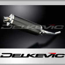 Delkevic KIT0938 350mm Kit Silencieux Ovale Carbone pour Suzuki GSF1200 Bandit 1995-2007