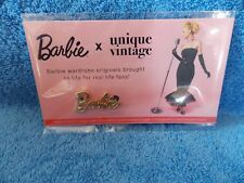 "New 2018 Barbie Doll Convention Unique Vintage "" Barbie "" Adult Size Pin"