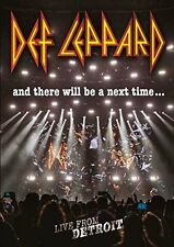 DEF LEPPARD AND THERE WILL BE A NEXT TIME DVD (Released 10/2/2017)
