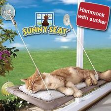 Cat Bed Basking Window Hammock Perch Cushion Bed Hanging Shelf Seat Cat