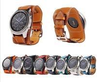 Genuine Leather Watch Band Cuff Bracelet Watch for LG watch Urbane W100 110 150