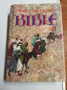 The Childrens Bible 1965 Golden Press Hardcover Illustrated Stories vintage