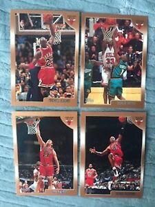 1998-99 Topps Chicago Bulls team set - Michael Jordan