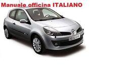 Renault CLIO III 3 Serie 3° (2005/2012)  Manuale Officina Riparazioni ITALIANO