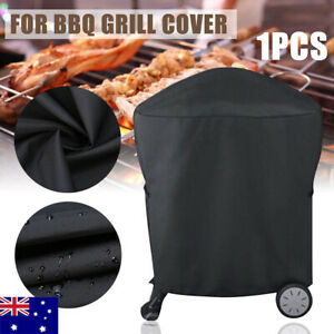 AU.BBQ Rolling Cart Full Length Grill Cover For Weber Q 200 Series 7113  *