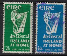 IRELAND: 1953 An Tostal pair SG154-5  used
