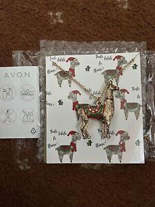 Avon Llama Necklace
