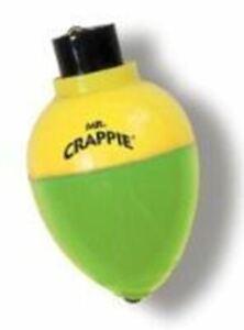 "Betts Mr.Crappie Rattlin Pear 11/4"" 3ct Yellow-Green"
