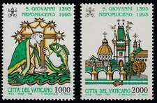 Vaticaan postfris 1993 MNH 1097-1098 - Johannes van Nepomuk