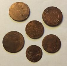 6 antike Münzen Kreuzer Deutschland/Österreich