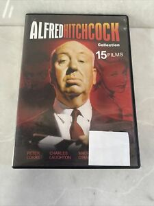 Alfred Hitchcock Collection 15 Films Dvd Free Postage