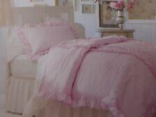 2 pc Simply Shabby Chic Pink Twin Duvet Cover & Sham Set NIP