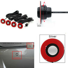 Car SUV Parking Reverse Backup Assistant Radar Alarm System+4x 16mm Flat Sensors