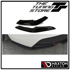BMW 1 Series F20/F21 M-Power (Pre-Facelift) Rear Side Splitters Gloss Black BN