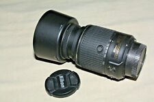 NIKON AF-S DX NIKKOR 55-200mm 1:4-5.6 ED VRII LENS NEAR MINT