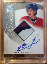 08-09 The Cup Ben Maxwell Rookie Auto Patch #3/249