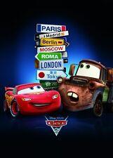 Cars 2 Poster Cities und ein Ü-Poster geschenkt!