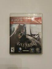 Play Station 3 PS3, Batman: Arkham Asylum+Batman Arkham City Dual Pack WB Games