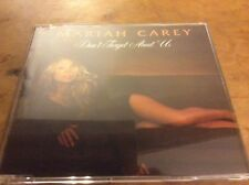 Mariah Carey - Don't Forget About Us - Eu 4trk Cd Single With Video. Rare.