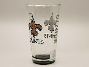 Boelter Brands NFL New Orleans Saints 16oz Elite Pint Glass Delivery 2-4 Days
