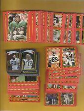 1988 Topps Football Sticker Set(285) Mint Set Has the Card Backs