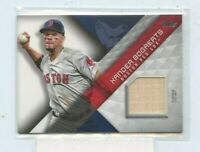 XANDER BOGAERTS 2018 Topps Major League Materials Game-Used Jersey MLM-XB