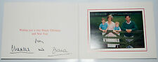 Royal Christmas Card Princess Diana, Prince Charles, Prince William and Harry