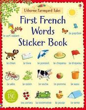 Farmyard Tales First French Words Sticker Book by Heather Amery (Paperback, 201…