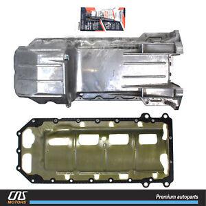 Engine Oil Pan & Gasket for 05-14 300 Dodge Challenger Charger Magnum Jeep 5.7L