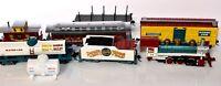 HO Scale Ringling Brothers & Barnum Bailey Train Set Locomotive Bachmann d462