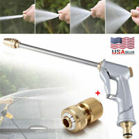 High Pressure Power Washer Water Spray Gun Nozzle Wand Attachment Garden Hose US