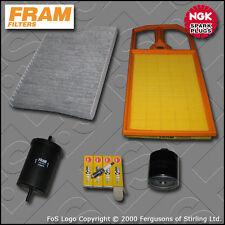 SERVICE KIT VW GOLF MK4 (1J) 1.4 16V MANUAL OIL AIR FUEL CABIN FILTER PLUG 97-05