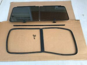 G10, G20, G30 Chevy GMC Van Pop Out  SIDE Windows Vandura 70-95 Swap kit Drivers