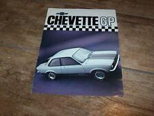 Prospectus  / Brazilian Brochure CHEVROLET Chevette GP 197? //
