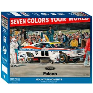 Impact Puzzles Ford Mountain Moments XC Falcon GT Puzzle 1000 Pieces