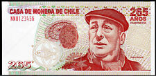 CHILE, POLYMER Test Note Securency Substrate intaglio Specimen, Pablo Neruda, T3