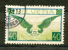 Zwitserland  234 x gebruikt met keur