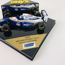 Onyx Formula 1 Models Williams Renault Coulthard 202B