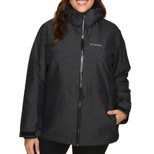 Womens size 3X Columbia Whirlibird interchange 3 in 1 jacket omni heat insulated