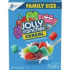 General Mills Jolly Rancher Cereal, Fruity Cereal, 18.7 oz Box Expires 12/15/20