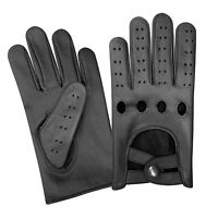 REAL NAPPA LEATHER MEN'S UNLINED FASHION DRIVING GLOVES