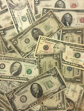 Antique Collection of Old Money... $1.00 $5.00, $10.00... $ 50.00 Face Value
