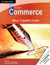 O Level Commerce, Trigwell-Jones, Mary, Very Good condition, Book