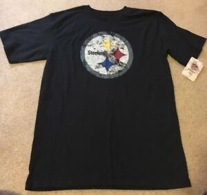 Pittsburgh Steelers Reebok Vintage Collection T-Shirt Youth X-Large 18/20