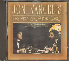 JON & and VANGELIS 1st Print  7 track CD The Friends of Mr Cairo YES 1981-1983