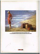 Publicité Advertising 1974 Pret a porter Femme Rodier