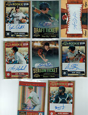 (8) 2011 PLAYOFF CONTENDERS MLB ROOKIE AUTO GREAT MIX ALL DIFFERENT BAKER LYLES