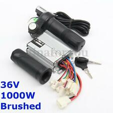 DC 36V 1000W Speed Control Motor Controller Brushed +Throttle Twist Grip Scooter